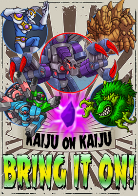 Hot Kaiju On Kaiju Action!
